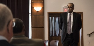 Interim Provost Neville Pinto shared his philosophy and plans for UofL during two recent open forums.